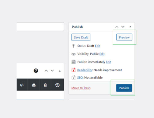 How to post a blog in WordPress